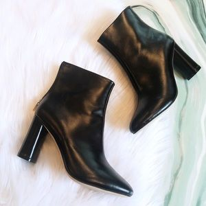 New Raye x Tularosa Avalon Black Leather Boots